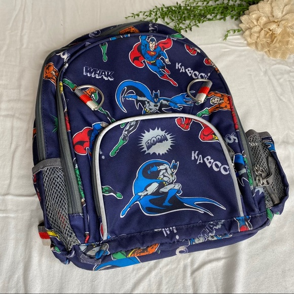 Pottery Barn Kids Accessories Dc Originals Superhero Backpack Poshmark